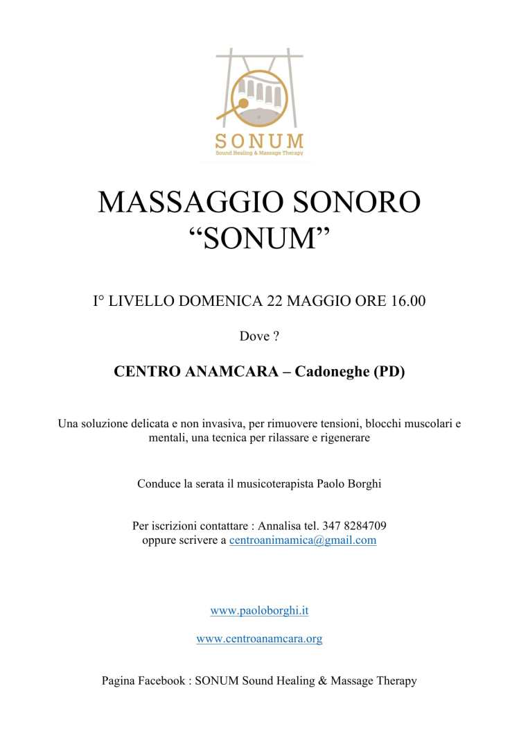 MASSAGGIO SONORO-1